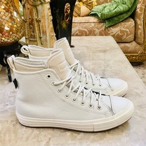 CONVERSE CHUCK TAYLOR ALL LEATHER Unisex M8 W 10